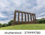 national monument of scotland... | Shutterstock . vector #379999780