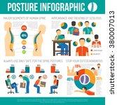 posture infographics layout | Shutterstock .eps vector #380007013