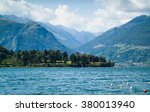 A View Of Lake Como From The...