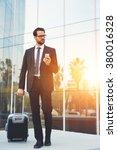 young confident man... | Shutterstock . vector #380016328