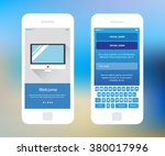 mobile wireframe ui kit. social ...