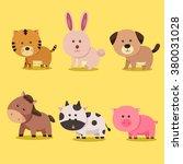 illustrator of animal zodiac... | Shutterstock .eps vector #380031028