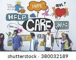 care assurance secured... | Shutterstock . vector #380032189