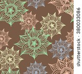 vintage flowers | Shutterstock . vector #380033086