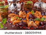 moroccan mint tea in the...   Shutterstock . vector #380054944