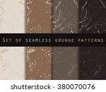 seamless pattern in grunge... | Shutterstock .eps vector #380070076
