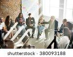 business team seminar corporate ...   Shutterstock . vector #380093188