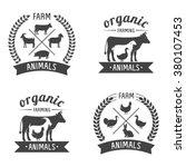 vector illustration logos and... | Shutterstock .eps vector #380107453