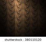 wallpaper pattern background... | Shutterstock .eps vector #380110120