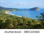 manuel antonio national park ... | Shutterstock . vector #380110360
