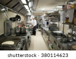 industrial kitchen of a... | Shutterstock . vector #380114623