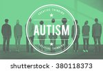 autism learning disability... | Shutterstock . vector #380118373