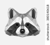 vector polygon geometric image... | Shutterstock .eps vector #380140618
