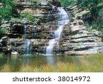 Hoopoe Falls In Oribi Gorge...