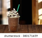 frappuccino in takeaway or to... | Shutterstock . vector #380171659