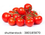 Fresh Tomatoes With Green...