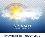 rainbow  sun   cloud. weather   ...