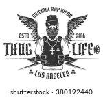 Set Of Rap Skull And Hip Hop...