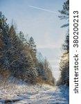 snow wood | Shutterstock . vector #380200213