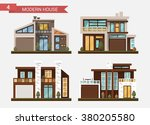 vector flat illustration... | Shutterstock .eps vector #380205580