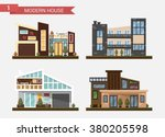 vector flat illustration... | Shutterstock .eps vector #380205598