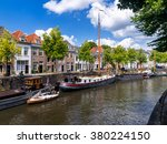The Old Harbor In Den Bosch Th...