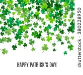 st patrick's day background.... | Shutterstock .eps vector #380228950