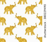 seamless pattern with nice... | Shutterstock . vector #380229490