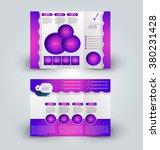 brochure mock up design...   Shutterstock .eps vector #380231428