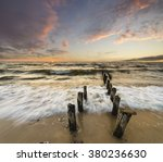 seascape sea  the waves... | Shutterstock . vector #380236630