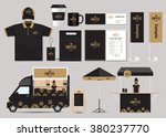 concept for coffee shop and... | Shutterstock .eps vector #380237770