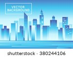 Vector Abstract City Landscape...