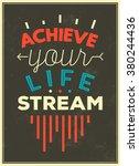 typographic background  ... | Shutterstock .eps vector #380244436