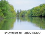 river and spring forest. lake... | Shutterstock . vector #380248300