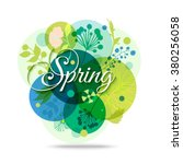 Spring Floral Transparent...
