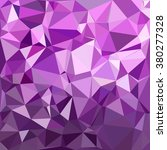 purple polygonal mosaic...   Shutterstock .eps vector #380277328
