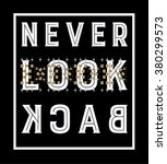 slogan print.for t shirt or... | Shutterstock .eps vector #380299573