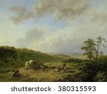 Landscape With An Approaching...