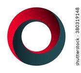 mobius strip. spatial figure... | Shutterstock .eps vector #380319148