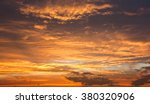 evening sunset view of... | Shutterstock . vector #380320906