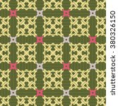 seamless ornament pattern... | Shutterstock .eps vector #380326150