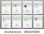 corporate identity vector... | Shutterstock .eps vector #380335300