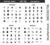 car icons set. | Shutterstock .eps vector #380336758