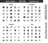 sport icons set.   Shutterstock .eps vector #380336983