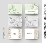 floral ornament vector brochure ...   Shutterstock .eps vector #380340670