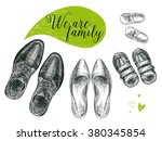 vector hand drawn illustration... | Shutterstock .eps vector #380345854