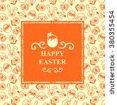 vector illustrations of easter... | Shutterstock .eps vector #380355454