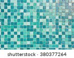 A Background Of Tiles In Blue...