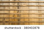brown wooden wall in japanese... | Shutterstock . vector #380402878