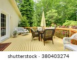 Perfect Furnished Deck With...